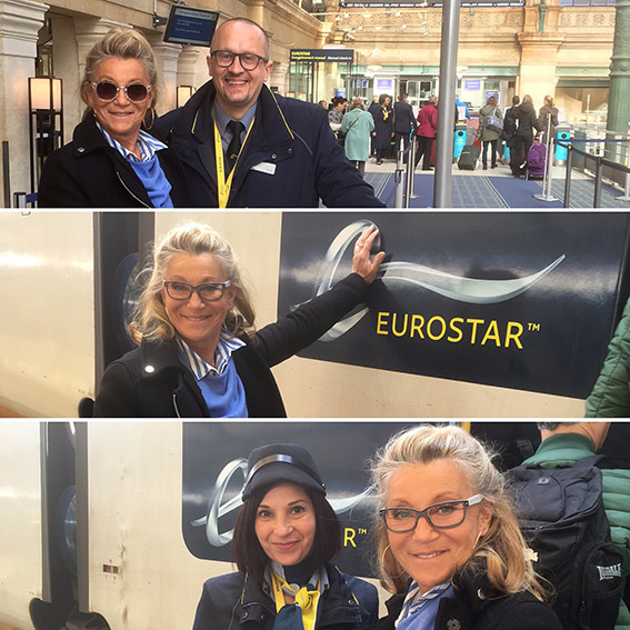 sheila officiel eurostar londres 2016
